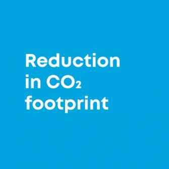 Reduced footprint