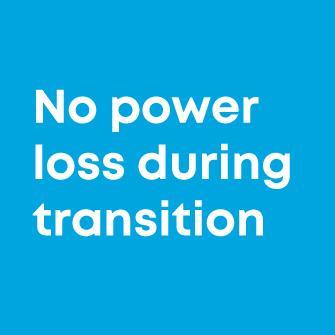 No power loss