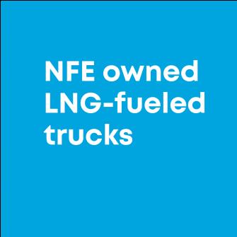 NFE owned trucks