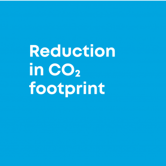 reduction in footprint