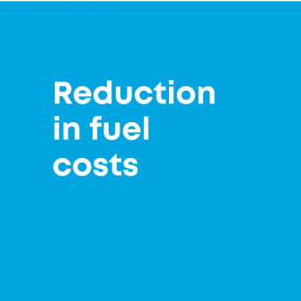 reduced fuel costs
