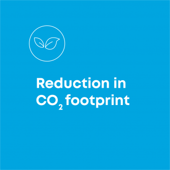 Reduction in carbon footprint