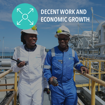 SDG Decent work and economic growth