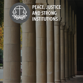 SDG Peace, justice and strong institutions