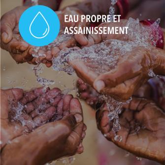 SDGs eau propre et assainissement