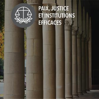 SDGs paix justice et institutions efficaces