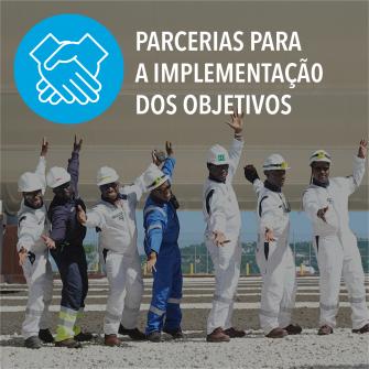 SDGs parcerias para a implementacao dos objetivos