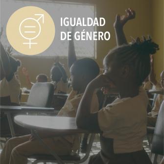 SDGs igualdad de genero