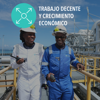 SDGs trabajo decente y crecimiento economico