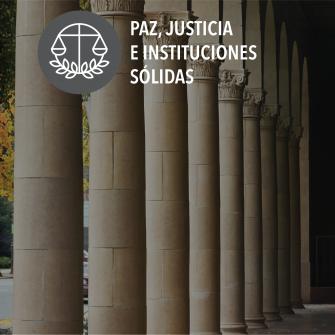 SDGs paz justicia e instituciones solidas