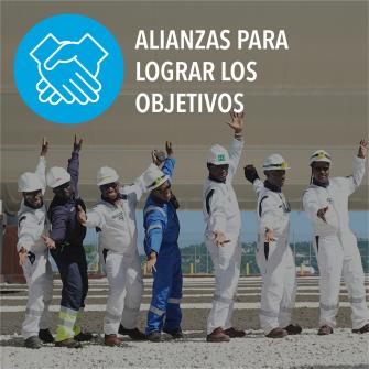 SDGs alianzas para lograr los objetivos