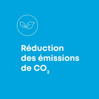Reduction des emissions de CO2