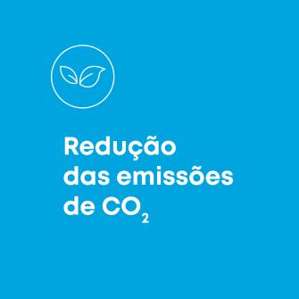 Reducao das emissoes de CO2