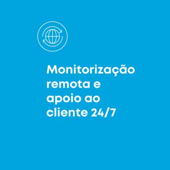 Monitorizacao remota e apoio ao cliente 24/7