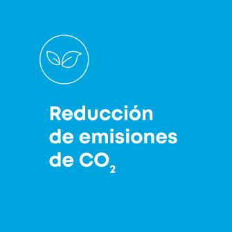 reduccion de emisiones de CO2