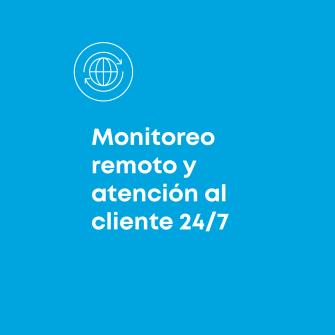 Monitoreo remoto y atencion al cliente 24/7