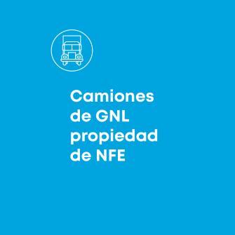 Camiones de GNL propiedad de NFE