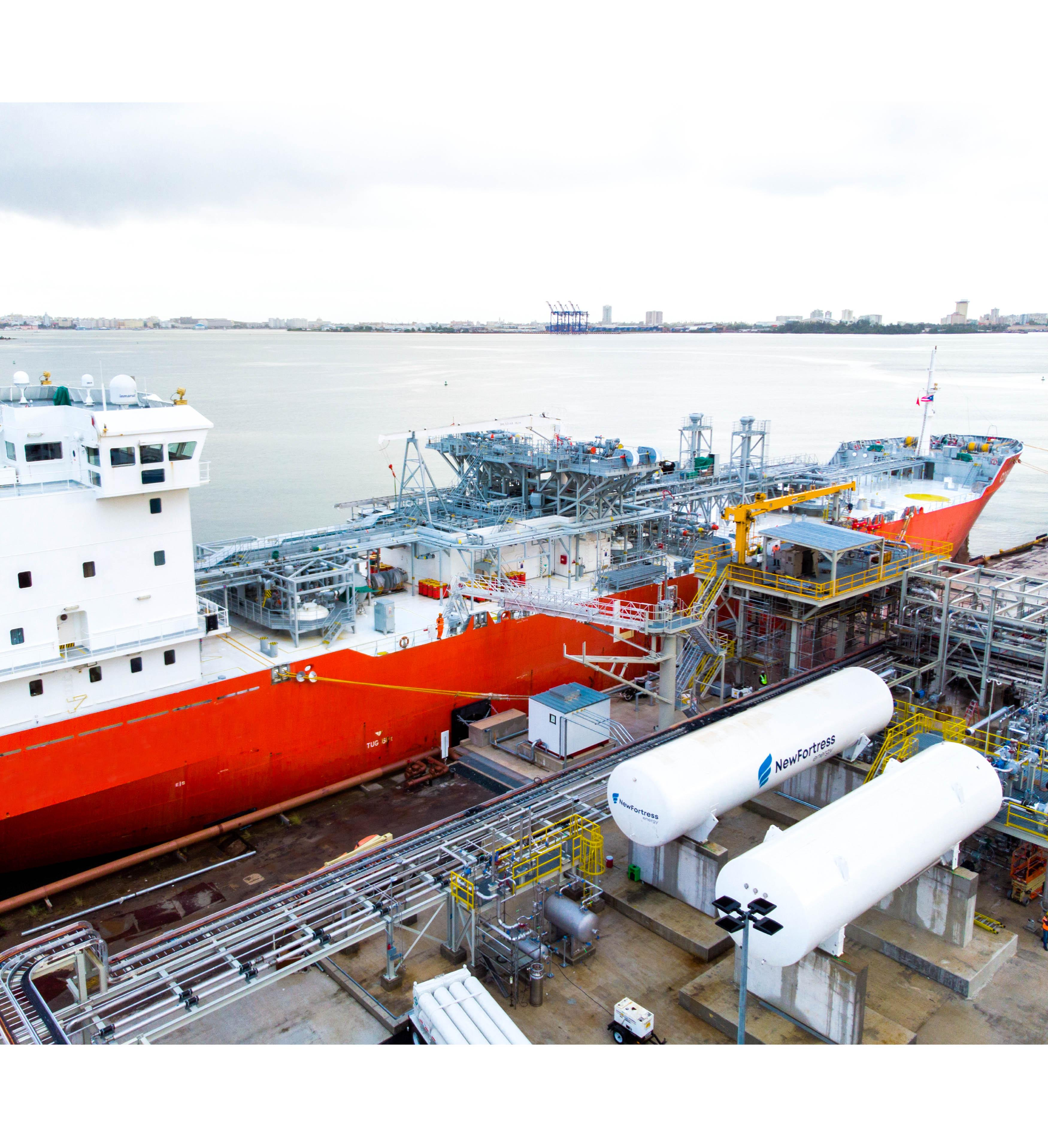 PR LNG Ship